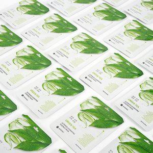 JKOSMEC GREEN TEA ULTIMATE HYDRATING ESSENCE MASK