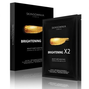 SKINSOMNIA BRIGHTENING X2 BEAUTY SLEEP MASK PACK